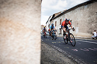 Ivan Garcia Cortina (ESP/Bahrain Merida) and Marc Soler (ESP/movistar) <br /> <br /> Stage 9: Saint-Étienne to Brioude (170km)<br /> 106th Tour de France 2019 (2.UWT)<br /> <br /> ©kramon
