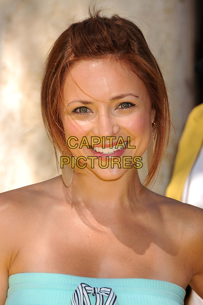 "CHRISTINE LAKIN.""The Simpsons Ride"" Opening at Universal Studios Hollywood, Universal City, California, USA..May 17th, 2008.headshot portrait strapless .CAP/ADM/BP.©Byron Purvis/AdMedia/Capital Pictures."