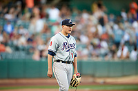 Reno Aces starting pitcher Frank Duncan (21) during the game against the Salt Lake Bees in Pacific Coast League action at Smith's Ballpark on June 15, 2017 in Salt Lake City, Utah. The Aces defeated the Bees 13-5. (Stephen Smith/Four Seam Images)