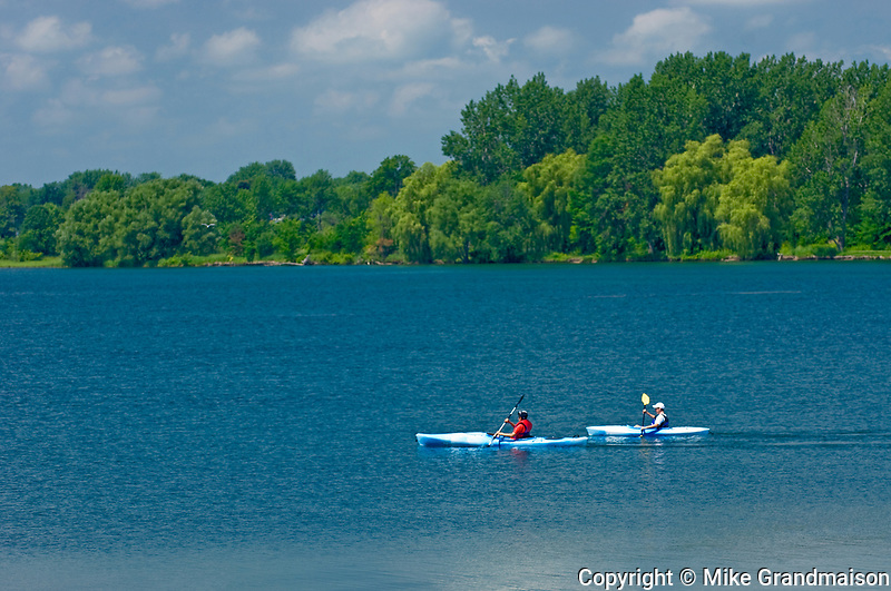 Kayaking on McLaran Island <br />