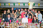 Shauna O'Shea and her dad Michael, Marian Pk, Tralee (seated centre) both celebrated their 18th and 40th birthdays with family and friends in the Tralee greyhound stadium last Friday night.