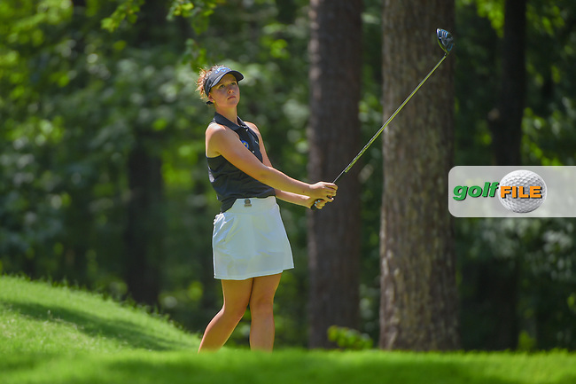 Linn Grant (a)(SWE) watches her tee shot on 2 during round 3 of the U.S. Women's Open Championship, Shoal Creek Country Club, at Birmingham, Alabama, USA. 6/2/2018.<br /> Picture: Golffile | Ken Murray<br /> <br /> All photo usage must carry mandatory copyright credit (© Golffile | Ken Murray)