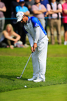 Jaco Van Zyl (RSA) on the 11th during round 3 of the 2016 BMW PGA Championship. Wentworth Golf Club, Virginia Water, Surrey, UK. 28/05/2016.<br /> Picture Fran Caffrey / Golffile.ie<br /> <br /> All photo usage must carry mandatory copyright credit (© Golffile   Fran Caffrey)