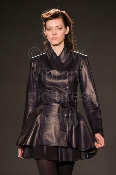10-15 February 2008, London Fashion Week, Photo: Bettina Strenske
