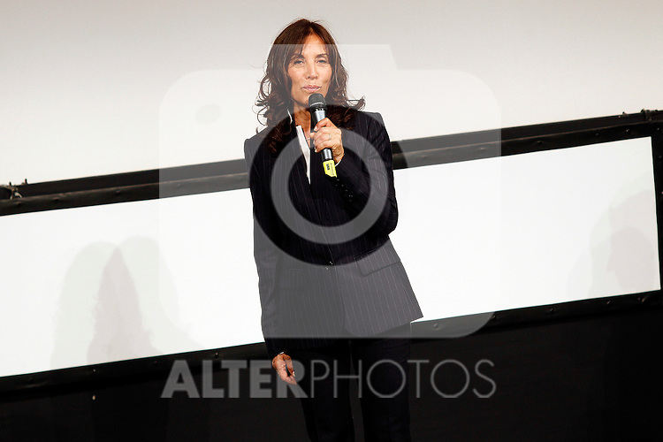 Olivia Harrison presents 'George Harrison: Living the Material World' at Victoria Eugenia Theate during the 59th San Sebastian Donostia International Film Festival - Zinemaldia.September 19,2011.(ALTERPHOTOS/ALFAQUI/Acero)