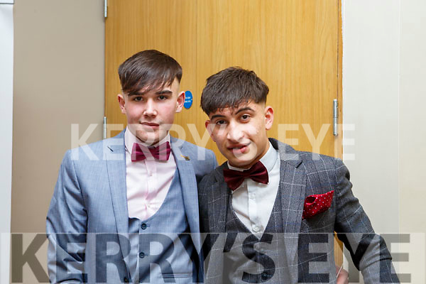 Daire Chawke (Tralee) and Daniel Ianko (Tralee) attending the CBS Debs in the Ballyroe Heights Hotel on Friday last.