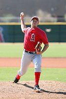 Jon Bachanov, Los Angeles Angels 2010 minor league spring training..Photo by:  Bill Mitchell/Four Seam Images.