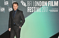 Samuel West at the 61st BFI LFF &quot;On Chesil Beach&quot; Love gala, Embankment Garden Cinema, Villiers Street, London, England, UK, on Sunday 08 October 2017.<br /> CAP/CAN<br /> &copy;CAN/Capital Pictures