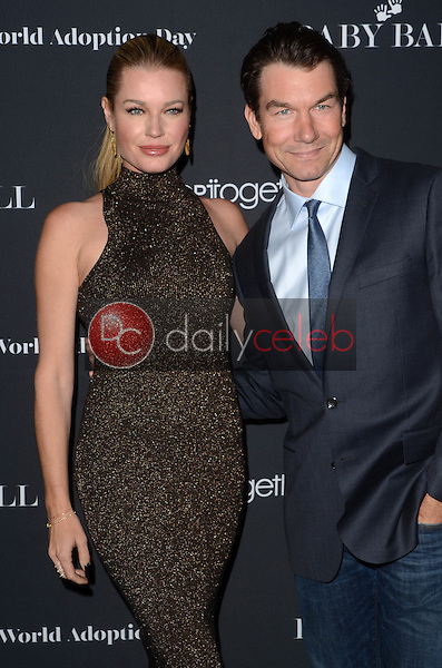 Rebecca Romijn, Jerry O'Connell<br /> at the Annual Baby Ball in honor of World Adoption Day, NeueHouse, Hollywood, CA 11-11-16<br /> David Edwards/DailyCeleb.com 818-249-4998