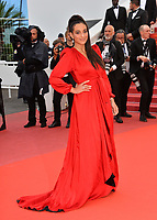 Camelia Jordana at the gala screening for &quot;BLACKKKLANSMAN&quot; at the 71st Festival de Cannes, Cannes, France 14 May 2018<br /> Picture: Paul Smith/Featureflash/SilverHub 0208 004 5359 sales@silverhubmedia.com