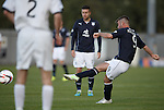 Peter MacDonald scores with a free-kick for Dundee