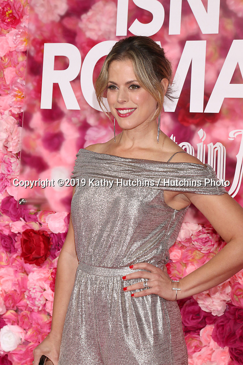 """LOS ANGELES - FEB 11:  Erin Cardillo at the """"Isn't It Romantic"""" World Premiere at the Theatre at Ace Hotel on February 11, 2019 in Los Angeles, CA"""