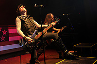 LONDON, ENGLAND - MARCH 11: Rachel Bolan and Scotti Hill of 'Skid Row' performing at Shepherd's Bush Empire on March 11, 2018 in London, England.<br /> CAP/MAR<br /> &copy;MAR/Capital Pictures