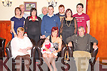 Emily Galvin, Tullig Beg, Killorglin, pictured with Liz and Denis Galvin, Ava Hannah Galvin, Denise and Darran Galvin, Naoimi Travers, Donal Foley, Norma and Pete Foley, Christopher Foley and Donal Sweeney as she celebrated her 21st birthday in the Danny Mann, Killarney on Friday night.