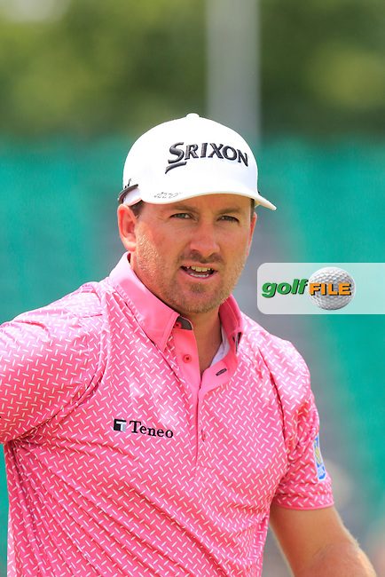 Graeme McDowell (NIR) walks off the 12th tee during Wednesday's Practice Day of the 2016 U.S. Open Championship held at Oakmont Country Club, Oakmont, Pittsburgh, Pennsylvania, United States of America. 15th June 2016.<br /> Picture: Eoin Clarke | Golffile<br /> <br /> <br /> All photos usage must carry mandatory copyright credit (&copy; Golffile | Eoin Clarke)