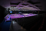 General view, <br /> AUGUST 20, 2018 - Artistic Gymnastics : Men's Individual All-Around Medal Ceremony at JIEX Kemayoran Hall D during the 2018 Jakarta Palembang Asian Games in Jakarta, Indonesia. <br /> (Photo by MATSUO.K/AFLO SPORT)