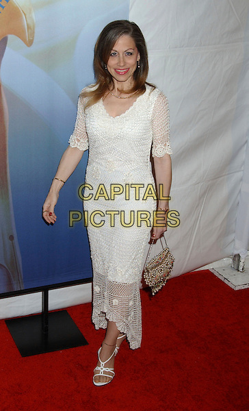 VICKI ROBERTS.2006 Writers Guild Awards held at The Hollywood Palladium, Hollywood, California, USA..February 4th, 2006.Photo: Laura Farr/AdMedia/Capital Pictures.Ref: LF/ADM.full length white dress .www.capitalpictures.com.sales@capitalpictures.com.© Capital Pictures.