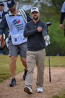 Ryan Moore (USA) makes his way down 2 during Round 3 of the Valero Texas Open, AT&amp;T Oaks Course, TPC San Antonio, San Antonio, Texas, USA. 4/21/2018.<br /> Picture: Golffile   Ken Murray<br /> <br /> <br /> All photo usage must carry mandatory copyright credit (&copy; Golffile   Ken Murray)