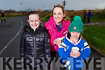 Sarah, Madeline and Lauren Foley at the Let's get Kerry walking, National Operation Transformation Walk.
