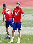 Spain's  during training session. March 21,2017.(ALTERPHOTOS/Acero)