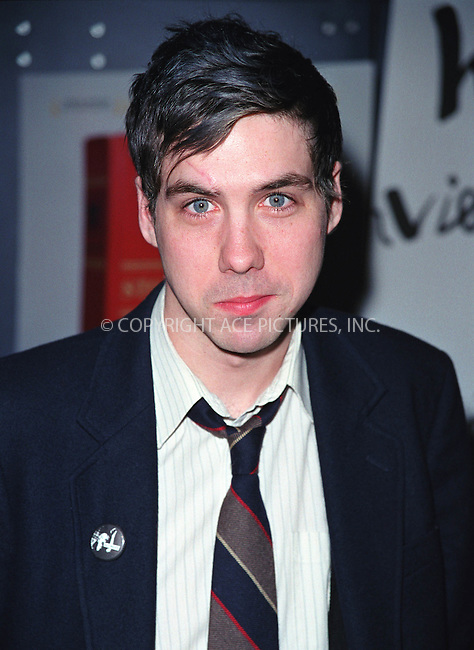 "Actor LEO FITZPATRICK at the premiere of Todd Solondz's film ""Storytelling"" hosted by Fine Line Features, Interview Magazine and Diesel at the United Artists Theater in Union Square, New York. January 22, 2002. © 2002 by Alecsey Boldeskul.  ONE-TIME REPRODUCTION RIGHTS."