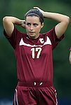 15 September 2011: Charleston's Allison Truitt. The Duke University Blue Devils defeated the College of Charleston Cougars 3-0 at Koskinen Stadium in Durham, North Carolina in an NCAA Division I Women's Soccer game.