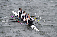 Crew: 58  Kings Sch Worcs  Event: CHAMP quads<br /> <br /> Schools' Head of the River 2017<br /> <br /> To purchase this photo, or to see pricing information for Prints and Downloads, click the blue 'Add to Cart' button at the top-right of the page.