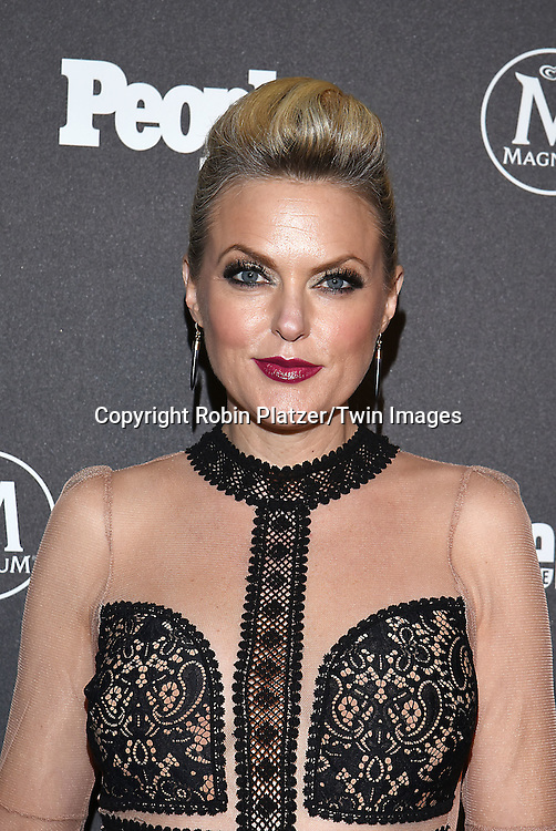 Elaine Hendrix attends the Entertainment Weekly &amp; PEOPLE Magazine New York Upfronts Celebration on May 16, 2016 at Cedar Lake in New York, New York, USA.<br /> <br /> photo by Robin Platzer/Twin Images<br />  <br /> phone number 212-935-0770