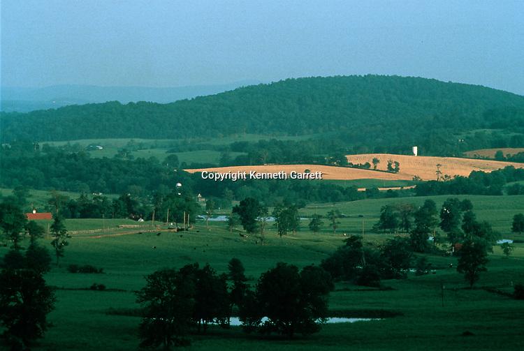 Virginia; Fauquier County; Hallowed Ground; Paris Valley