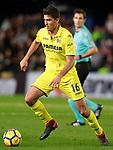 Villarreal CF's Rodrigo Hernandez during La Liga match. December 10,2017. (ALTERPHOTOS/Acero)