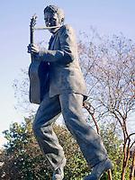Elvis Presley Statue in Memphis Tennessee
