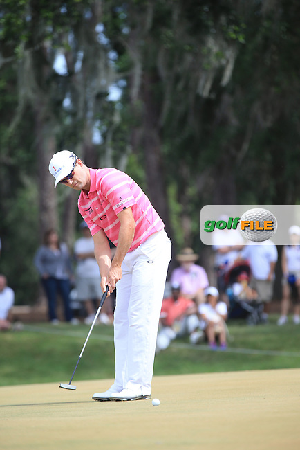 Zach Johnson (USA)  during the Final Round of The Players, TPC Sawgrass, Ponte Vedra Beach, Jacksonville.   Florida, USA. 15/05/2016.<br /> Picture: Golffile | Mark Davison<br /> <br /> <br /> All photo usage must carry mandatory copyright credit (&copy; Golffile | Mark Davison)