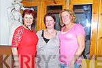 Friends night out, Joan Pitoski, Gillian Tobin and Marion Fitzgerald at Bella Bia on Friday