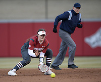 NWA Democrat-Gazette/ANDY SHUPE<br /> Arkansas Southeast Missouri Thursday, Feb. 21, 2019, during the inning at Bogle Park on the university campus in Fayetteville.