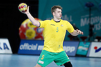 Australia's Tommy Fletcher during 23rd Men's Handball World Championship preliminary round match.January 15,2013. (ALTERPHOTOS/Acero) /NortePhoto