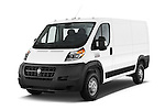 2015 Ram Promaster 1500 136 Wb Low Roof 4 Door Passenger Van 2WD Angular Front stock photos of front three quarter view