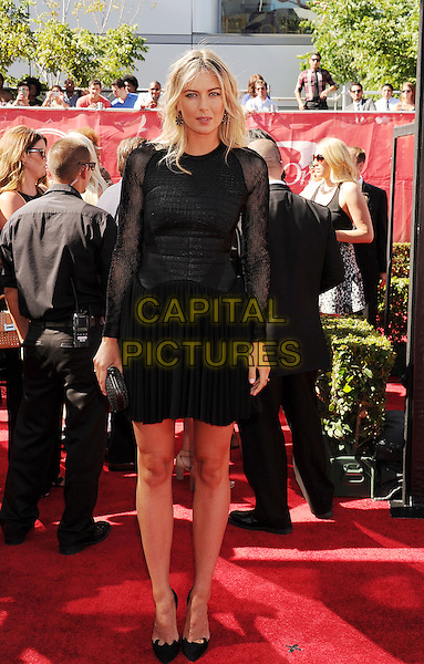 LOS ANGELES, CA- JULY 16: Tennis player Maria Sharapova arrives at the 2014 ESPY Awards at Nokia Theatre L.A. Live on July 16, 2014 in Los Angeles, California.<br /> CAP/ROT/TM<br /> &copy;Tony Michaels/Roth Stock/Capital Pictures