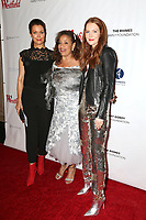 "LOS ANGELES - OCT 15:  Bellamy Young, Debbie Allen ,Darby Stanchfield at the ""Turn Me Loose"" at the Wallis Annenberg at the Wallis Annenberg Center for the Performing Arts on October 15, 2017 in Beverly Hills, CA"