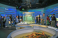People Water Planet exhibit, new California Academy of Sciences, San Francisco California