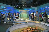 People Water Planet exhibit, new California Academy of Sciences, San Francisco California