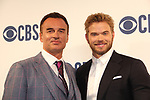 "Julian McMahon ""Ian Rain"" - Another World with costar Kellan Lutz and now on CBS FBI Most Wanted and earlier on Profiler, Charmed - CBS Upfront 2019 held in New York City at the Todd English Food Hall on May 15, 2019 with new fall shows  - FBI: Most Wanted. (Photo by Sue Coflin/Max Photos)"