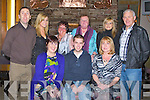 BELETATED; Having their beleated Christmas party in Kirby's Brogue Inn, Tralee on Friday night were staff of the Kerry County Board. Front l-r: Breda O'Callaghan, James McCarthy and Kate O'Connell. Back l-r: Vince Cooper, Laura O'Keeffe, Kathleen O'Carroll, Catherine Myres and Maurice Leahy. ......... . ............................... ..........