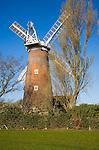 Buttrum's Mill windmill, Woodbridge, Suffolk, England