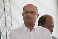 SAO PAULO, SP - 22.03.2017 - GERALDO ALCKMIN - Governador Geraldo Alckmin participa da comemora&ccedil;&atilde;o do dia Mundial da &Aacute;gua na manha desta quarta-feira (22) na Represa do Guarapiranga, zona sul da Capital. O evento de preserva&ccedil;&atilde;o dos mananciais, Nossa Guarapiranga teve a presen&ccedil;a de outras autoridades do Estado e do prefeito de S&atilde;o Paulo, Jo&atilde;o D&oacute;ria Jr..<br /> <br /> (Foto: Fabricio Bomjardim / Brazil Photo Press)