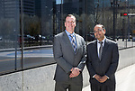 (L to R) Michael Collins & Arvind Rajan of Prudential PGIM Investments Group Newark, New Jersey 4/23/18