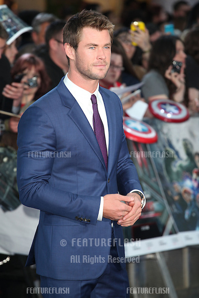 Chris Hemsworth arriving for the Avengers: Age Of Ultron premiere, at Westfield Shepherd's Bush, London. 21/04/2015 Picture by: Alexandra Glen / Featureflash