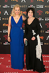 Emma Ozores, Adriana Ozores attend 30th Goya Awards red carpet in Madrid, Spain. February 06, 2016. (ALTERPHOTOS/Victor Blanco)