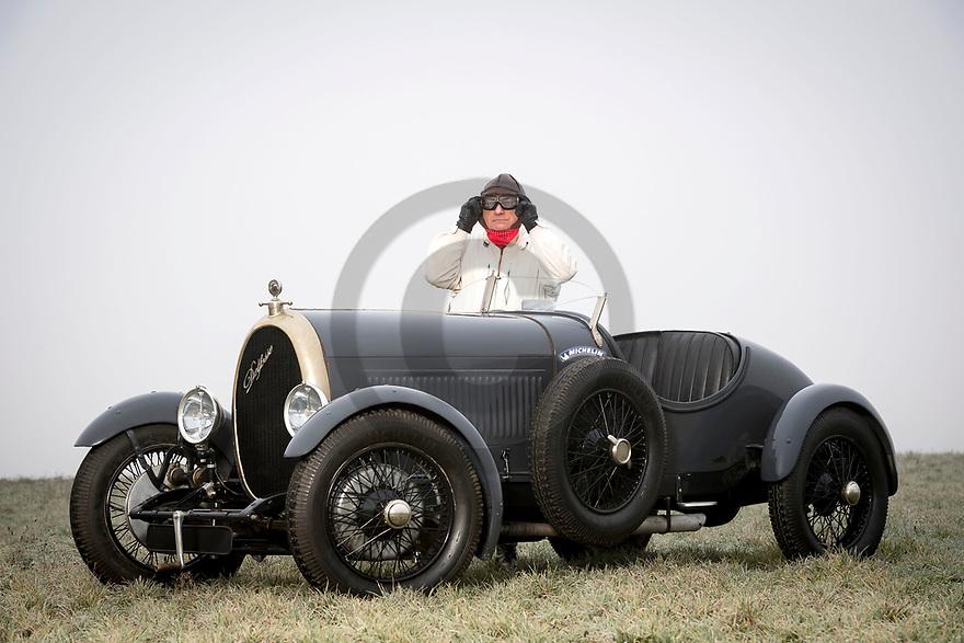 3/01/19 - MARINGUES - PUY DE DOME - FRANCE - Essais voiturette DELFOSSE type CD7 de 1925 - Photo Jerome CHABANNE