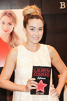 LOS ANGELES, CA - JUNE 11: Lauren Conrad signs copies of her new book 'Infamous' at Barnes & Noble bookstore at The Grove on June 11, 2013 in Los Angeles, California. (Photo by Rob Latour/Celebrity Monitor)