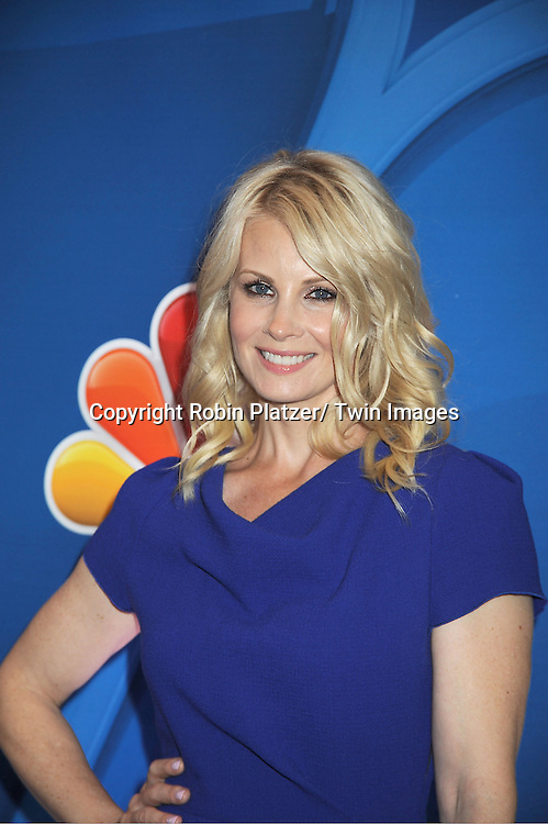 Monica Potter arrives at the NBC Upfront Presentation for 2013-2014 Season on May 13, 2013 at Radio City Music Hall in New York City.